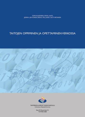 Julkaisu on ladattavissa pdf-muodossa - Tampereen ...