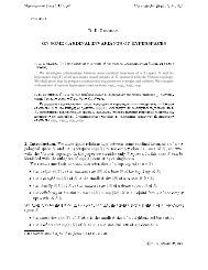 on some cardinal invariants of hyperspaces - Matematychni Studii