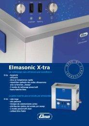Elmasonic X-tra - Edeltec