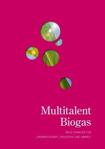 Multitalent Biogas Multitalent Biogas - Biogaspartner