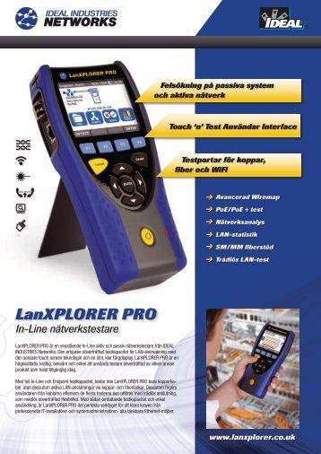 LanXPLORER PRO - Ideal Industries