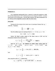 PROBLEM 5.9 Air is expanded isentropically from a reservoir in ...