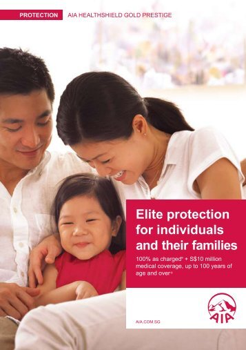 Elite protection for individuals and their families - AIA Singapore