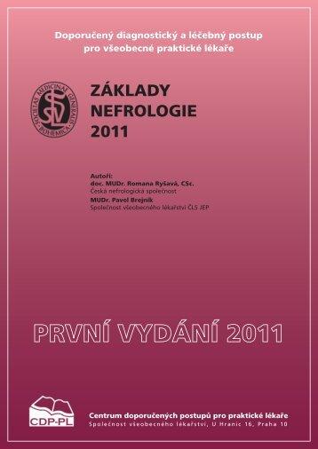 ZÁKLADY NEFROLOGIE 2011 - Společnost všeobecného lékařství