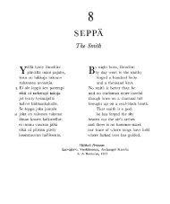 C Kalevala: The Smith, Fire
