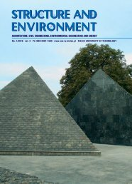 Pobierz pełny numer 1/2010 S&E - Structure and Environment - Kielce