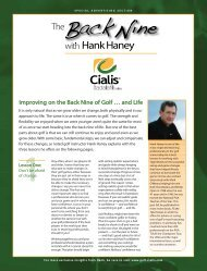 Improving on the Back Nine of Golf … and Life - Forbes Special ...