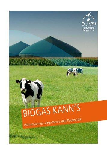 biogas kann's - Fachverband Biogas e.V.