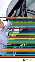 BERETNING 2009 - Sydtrafik