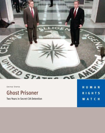 Ghost Prisoner - Human Rights Watch