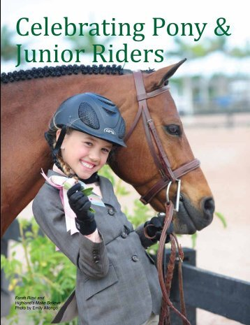 Celebrating Pony & Junior Riders - Sidelines Magazine