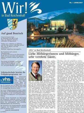 Ausgabe Dezember 2006 - Stadt Bad Reichenhall