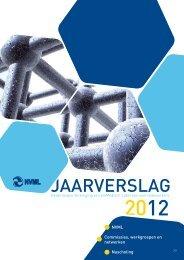 Jaarverslag 2012 - Nederlandse Vereniging van bioMedisch ...