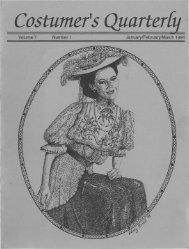 Vol 7 No 1 - International Costumers' Guild, Inc.