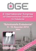 Crossroads Endodontics - the European Society of Endodontology - Seite 5