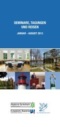 1. Jahreshälfte - Academia Baltica