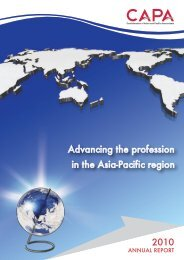 Annual Report 2010 - Confederation of Asian and Pacific Accountants