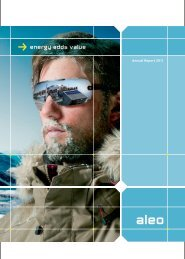 Annual Report 2011 - Aleo Solar