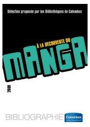 Bibliographie Mangas