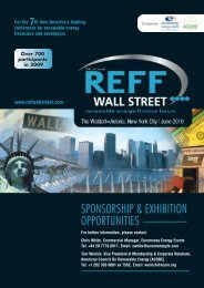 sponsorship opportunities - American Council On Renewable Energy