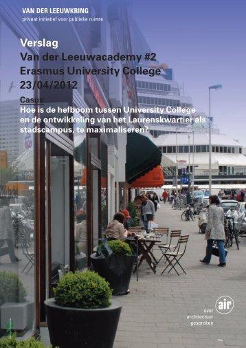 Verslag - Van Der Leeuwkring