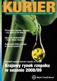 Krajowy rynek rzepaku w sezonie 2008/09