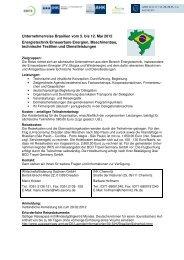 UR Brasilien 2012- Anmeldung-Informationen 1
