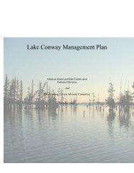 Lake Conway Management Plan - Arkansas Game and Fish ...