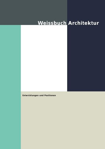 Weissbuch Architektur