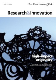 Research and Innovation Issue 03 (PDF , 1496kb) - University of York