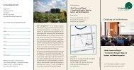Wind, Sonne und Biogas. Veranstaltungsflyer - Biogasrat e.V.
