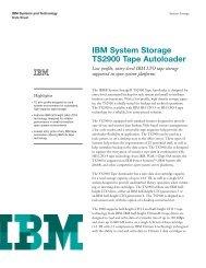 IBM System Storage TS2900 Tape Autoloader
