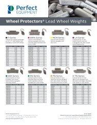 Wheel Protectors® Lead Wheel Weights - Perfect Equipment ...