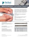 Wheel Protectors® Lead Wheel Weights - Perfect Equipment ... - Page 2