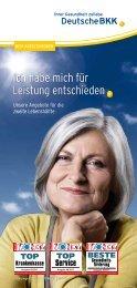 Leistungen für BestAger und Senioren (PDF, 0.9 - Deutsche BKK