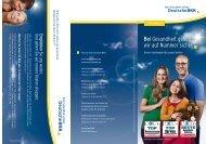 Angebote für junge Familien (PDF, 0.9 MB - Deutsche BKK