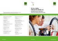 Fit for E-Bike Fahrrad-Techniker/in