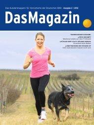 Das Magazin 2|2012 (PDF, 3.6 MB) - Deutsche BKK