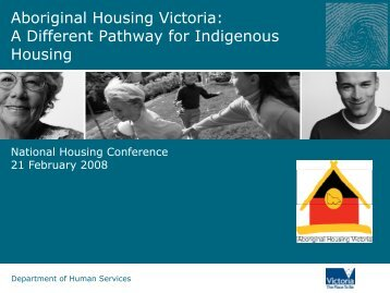 Aboriginal Housing Victoria - National Housing Conference