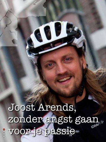 Joost Arends, zonder angst gaan voor je passie - overenuitdeventer.nl