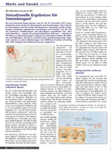 Willkommen Bei Der Deutschen Briefmarken Revue Peter Rapp Ag