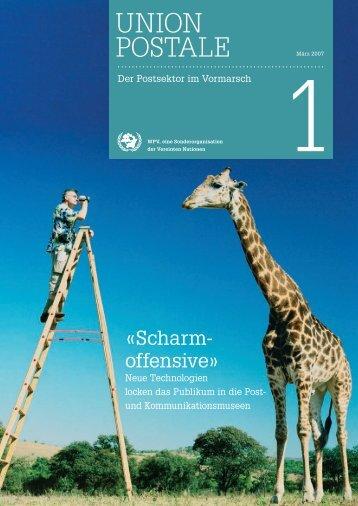 Revue Union Postale auf Deutsch