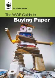 WWF Guide to Buying Paper