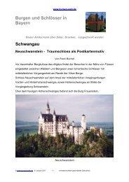 Schwangau Neuschwanstein - Burgen-Web.de