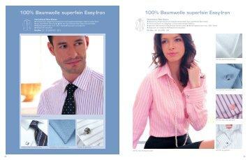100% Baumwolle superfein Easy-Iron 100% Baumwolle superfein ...