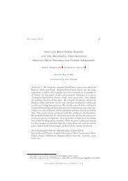 Singular Bott-Chern Classes and the Arithmetic Grothendieck ...
