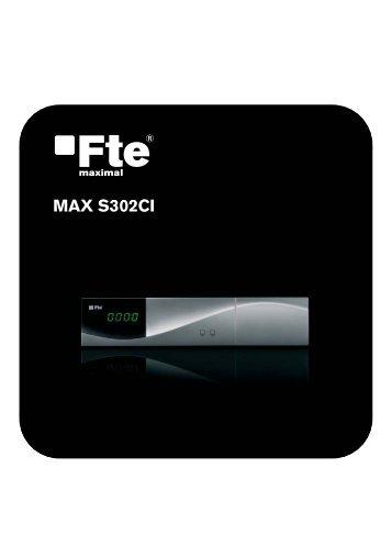 MAX S302CI_PO_v1.1.indd - Receptores digitales - FTE Maximal