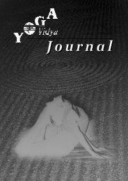 Ausgabe 7, Sommer 2002 - Yoga Vidya
