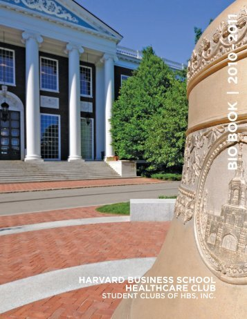 BIO BOOK | 20 10 – 20 11 - Harvard Business School