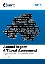 OCTF Annual Report 2013 - Department of Justice